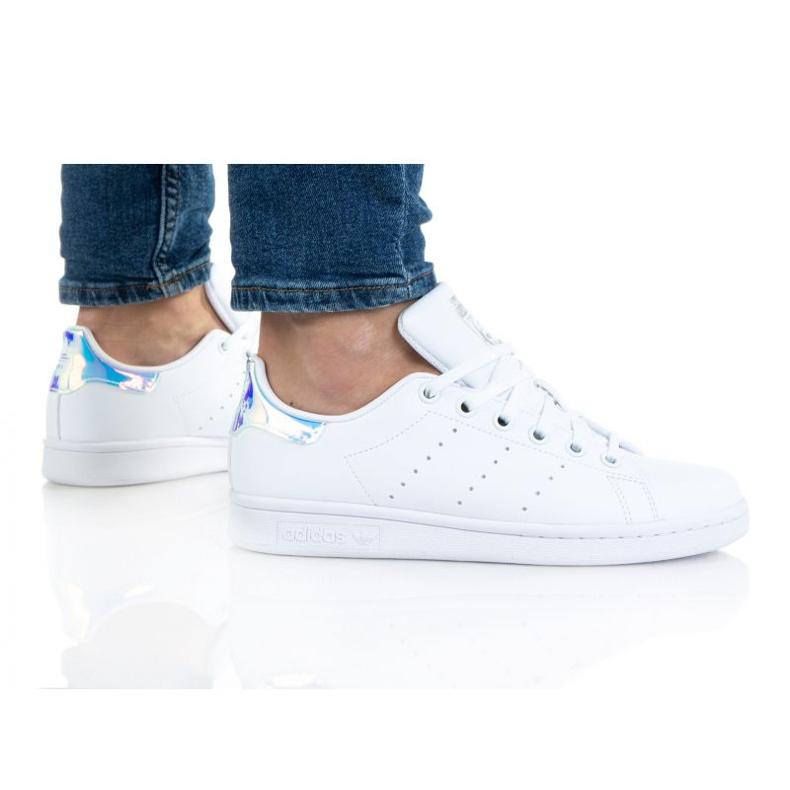 Adidas Stan Smith Jr FX7521 shoes white orange