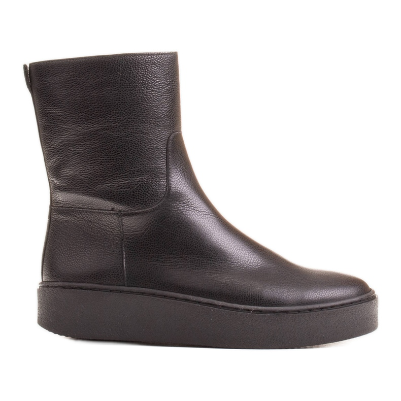 Marco Shoes Comfortable Marco boots with a flat bottom black
