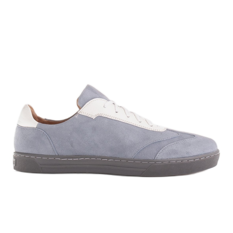 Marco Shoes Sports sneakers made of high-quality natural suede grey