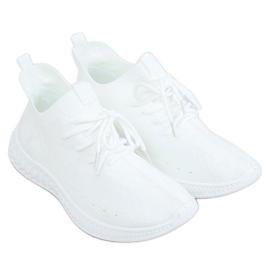 White PC01 White socks sports shoes