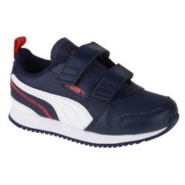 Puma R78 Sl V Infants 374430 03 black navy blue