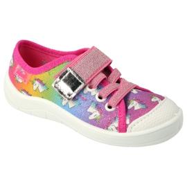 Befado children's shoes 251X178 Unicorn blue orange pink silver green