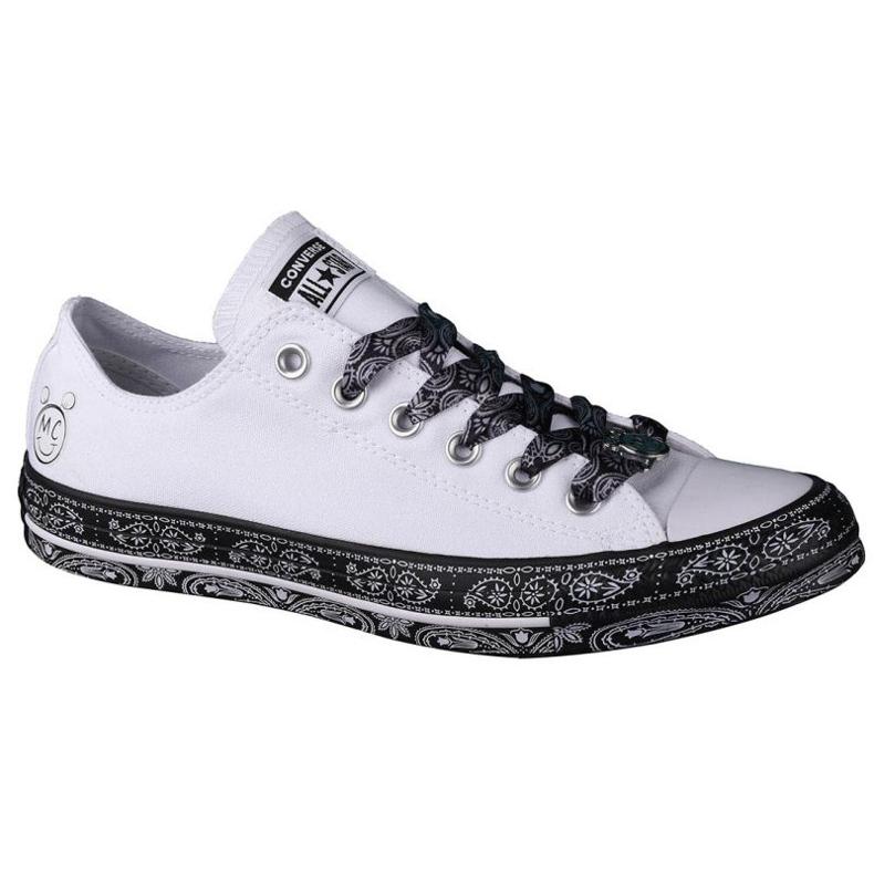 Converse X Miley Cyrus Chuck Taylor All Star M 162235C white black