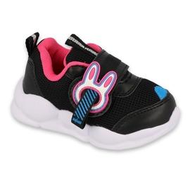 Befado children's shoes 516P092 black pink