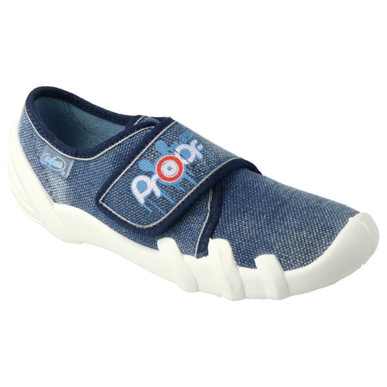 Befado children's shoes 273Y327 navy blue