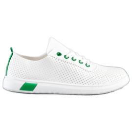 SHELOVET Openwork Sneakers white