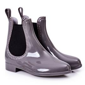 Children's Galoshes Jodhpur boots Gray Lily grey