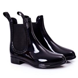 Children's Galoshes Black Jodhpur boots Lily