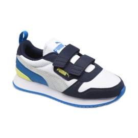 Puma R78 V Ps Jr 373617 18 white navy blue