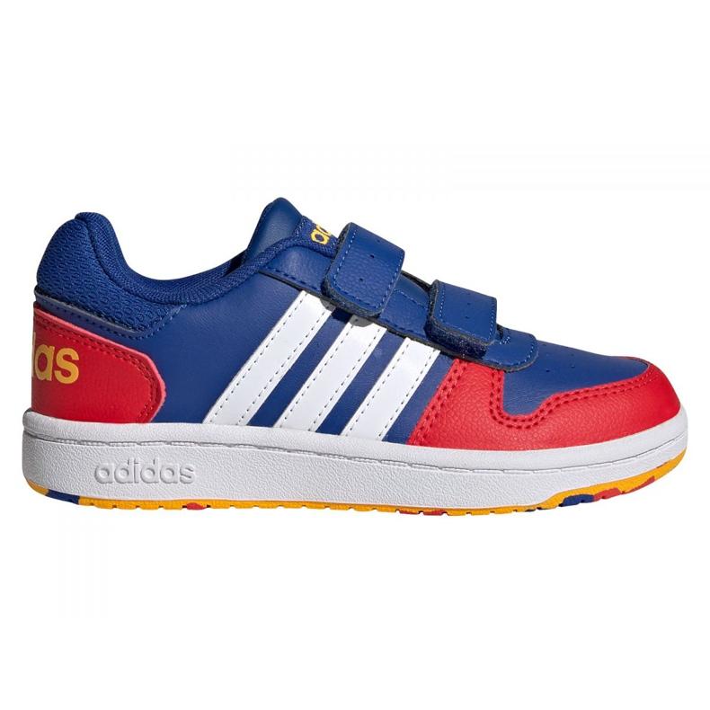 Adidas Hoops 2.0 C Jr FY9443 shoes black blue