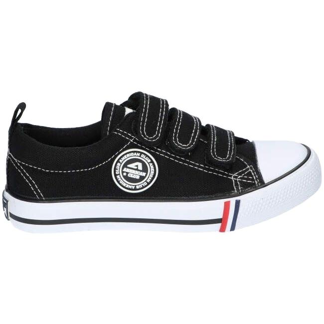 American Club Black American LH33 / 21 Velcro sneakers