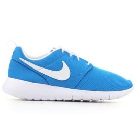 Nike Roshe One (GS) Jr 599728-422 shoes black blue
