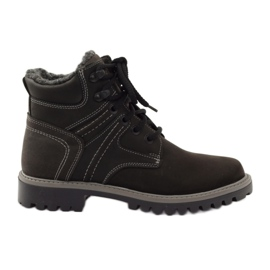 Black Shoes winter trappets Naszbut 831