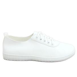 White women's sneakers JF-873 White