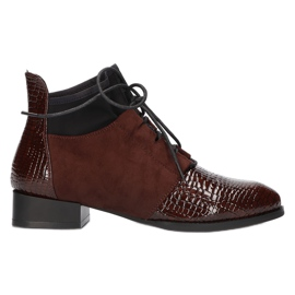 Women's Boots Leather Filippo DBT3034 / 21 BR brown