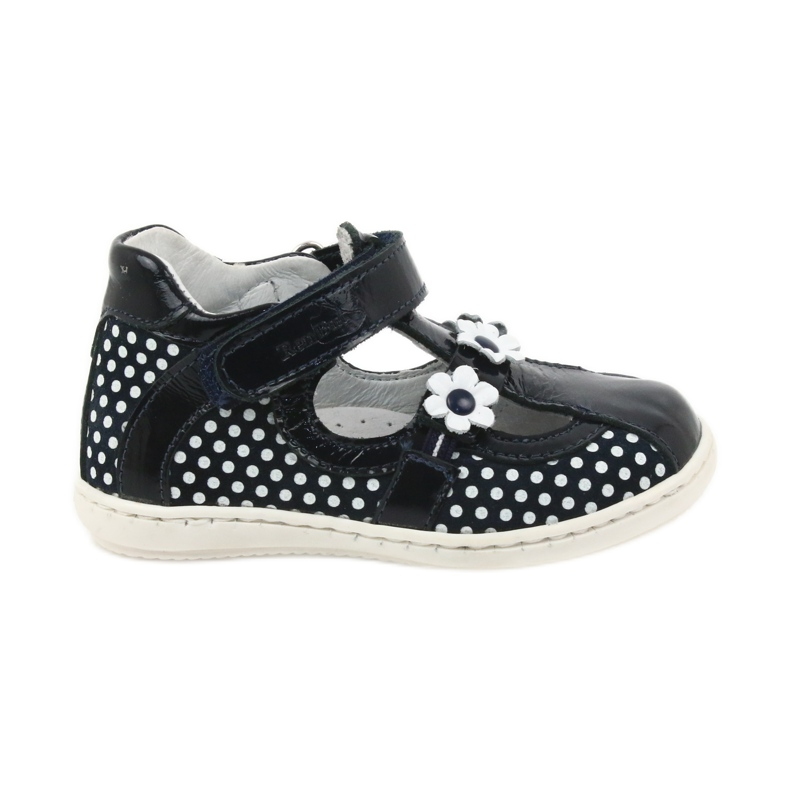Ren But Dark blue polka dot ballerinas Ren 267