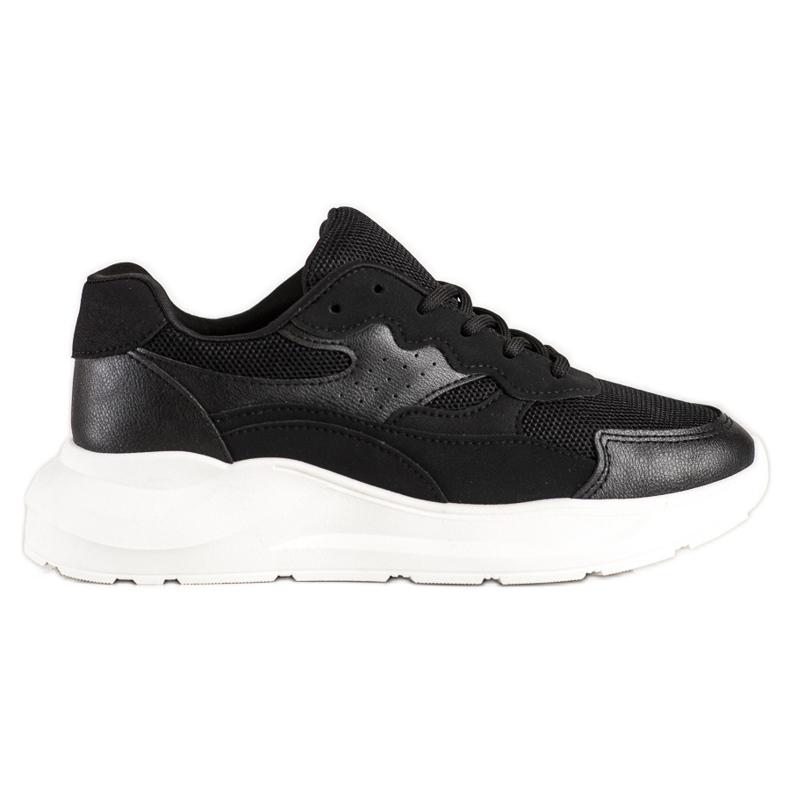 SHELOVET Casual Black Sneakers