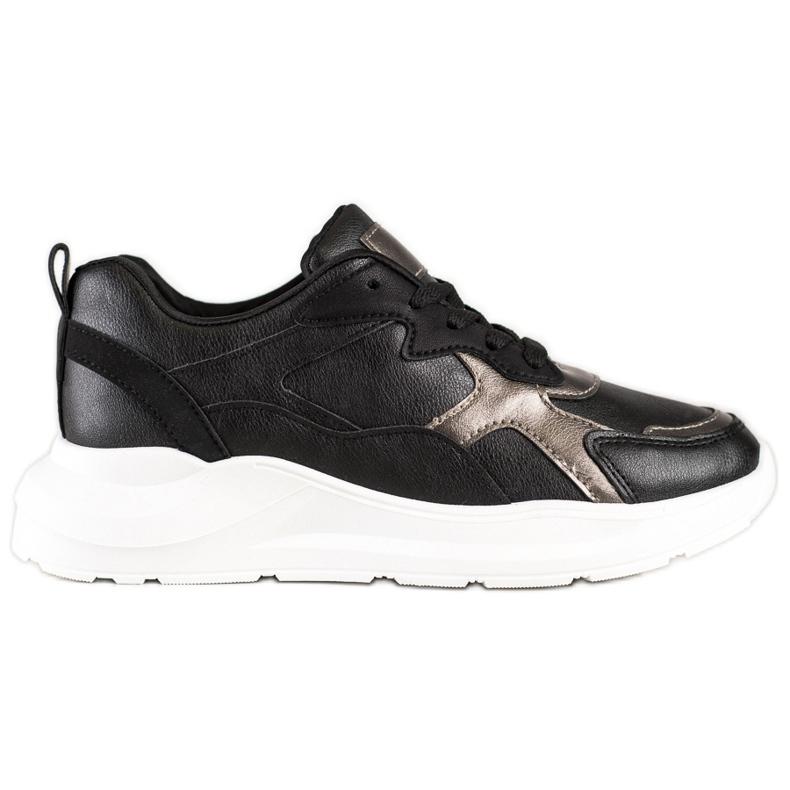 SHELOVET Sneakers On The Platform black