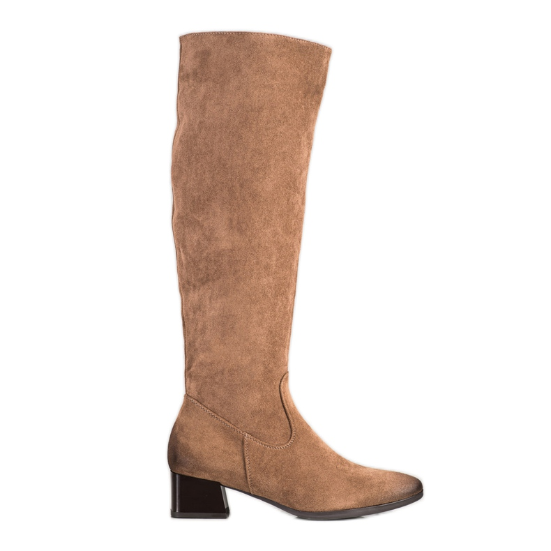 Boots On Low Post VINCEZA brown