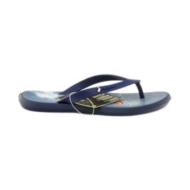 Navy blue flip flops children shoes flip-flops Rider 1307