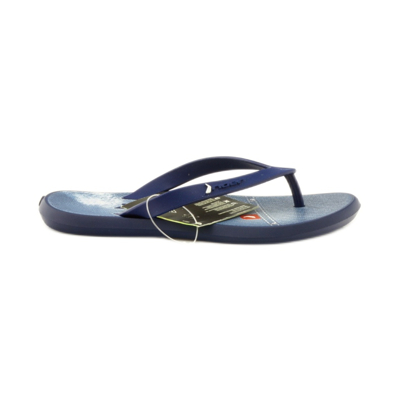 Navy blue flip flops children shoes flip-flops Rider 1307