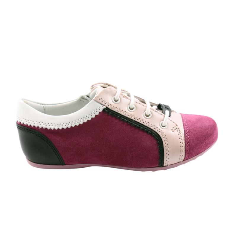Boots children's shoes Bartek 45293 pink black white
