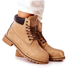 PH1 Women's Beige Crush Warm Boots brown
