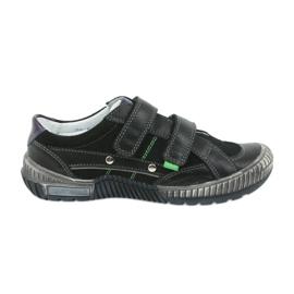 Boys' shoes Bartek 55287 black grey green