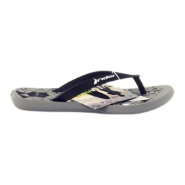 Black flip-flops for water Rider 81561