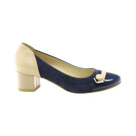 Women's shoes Edeo 1900 navy blue