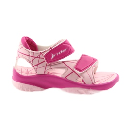 Pink sandals children's velcro shoes for water Rider 488