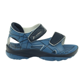 Blue sandals children's velcro shoes for water Rider
