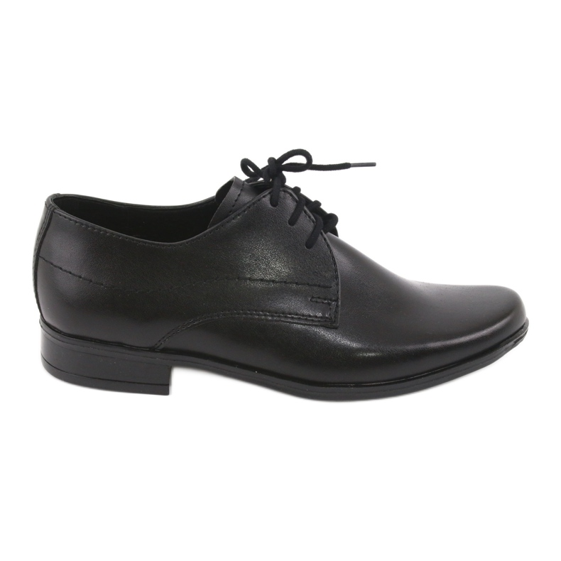 Black First Communion shoes Gregors 429