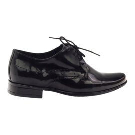 Black lacquered children's shoes Gregors 429
