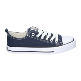 American Club Navy blue sneakers classic women's shoes bound American