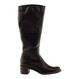 Brown women's boots Anabelle 503