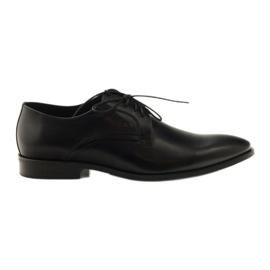 Men's classic shoes Pilpol 1329 black