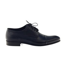 Oxford shoes Pilpol 1607 navy blue