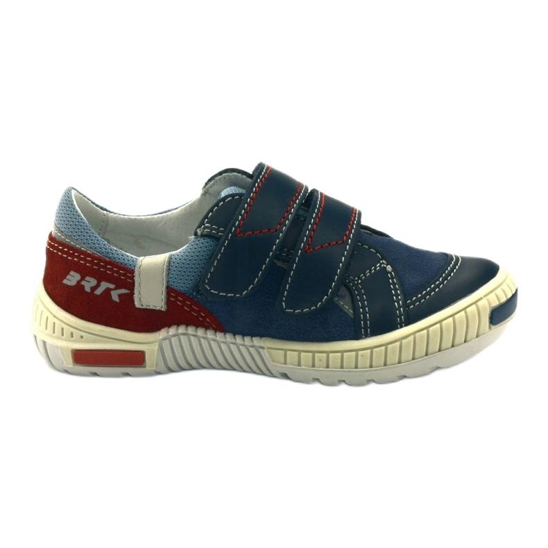 Boys' shoes Bartek 85585 navy blue red multicolored