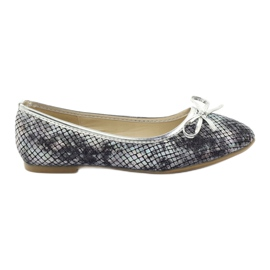 American Club grey Ballerinas girls' American C061 gray