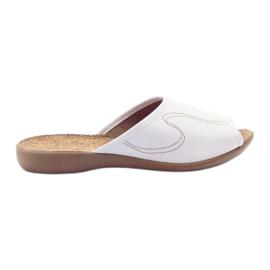 Befado women's shoes slippers flip 254d058 white