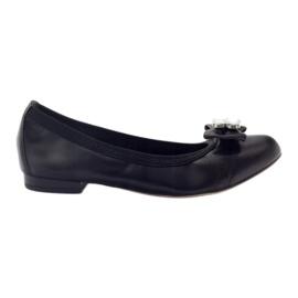 Ballerinas women's bow Gamis 1402 black