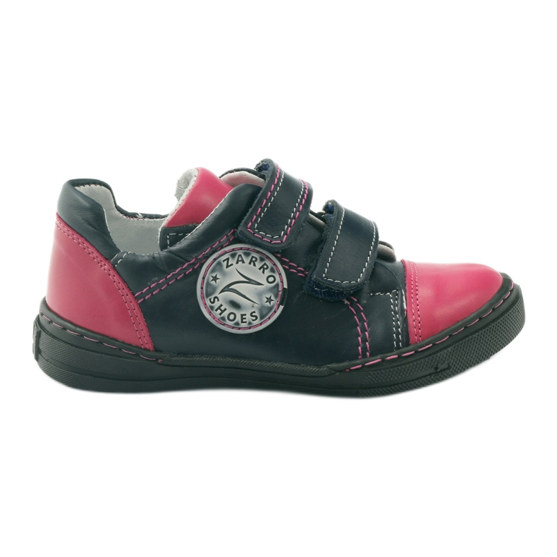Girls' shoes Zarro 85/09 pink navy multicolored