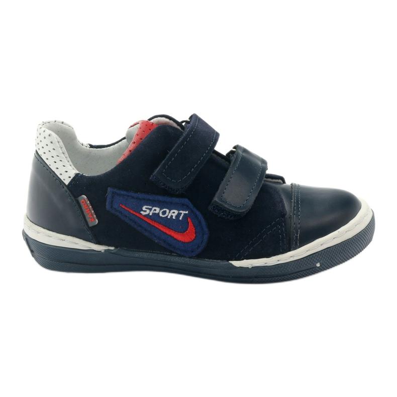 Shoes boys sports Zarro 85/02 gr white red multicolored