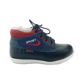 Boys' shoes Zarro 80/00 navy blue red multicolored white