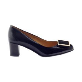 Pumps patent leather black Sagan 2776