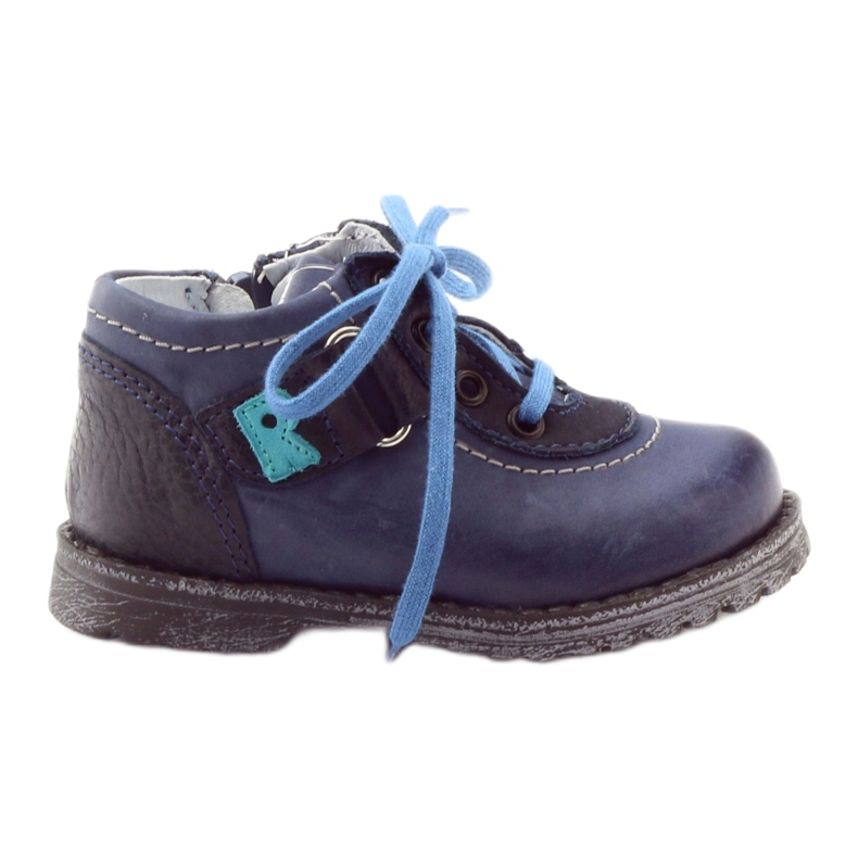 Boys' shoes Ren But 1456 navy blue multicolored grey