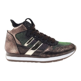 McArthur Sports shoes copper multicolored golden