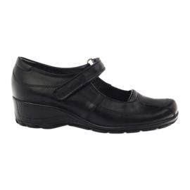 Comfortable Platform Shoes Angello 371 black