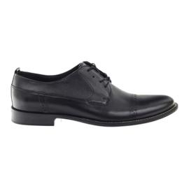 Badura classic black shoes for men 7599